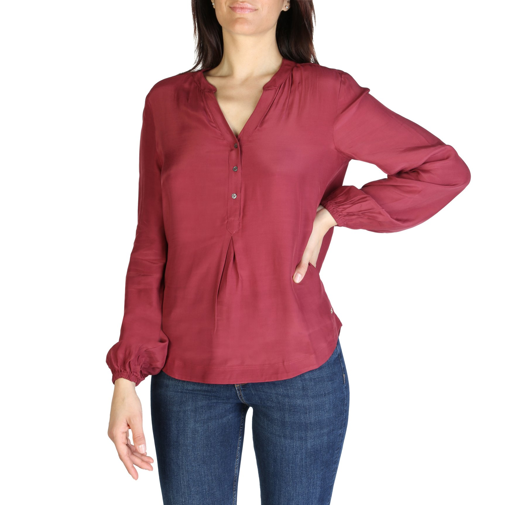 Tommy Hilfiger Women's Shirt Various Colours XW0XW01170 - red 4
