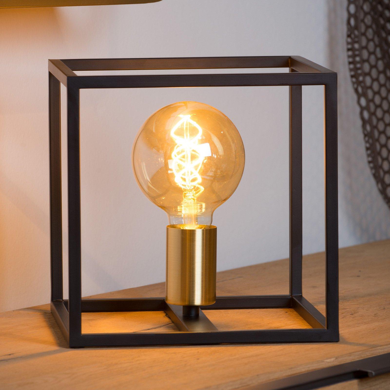 Ruben bordlampe, svart