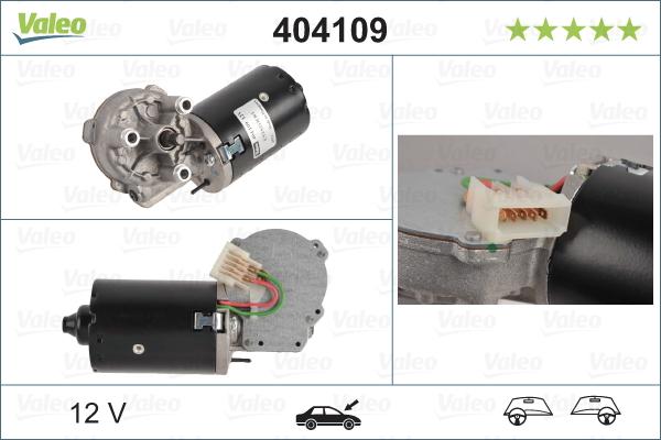 Pyyhkijän moottori VALEO 404109