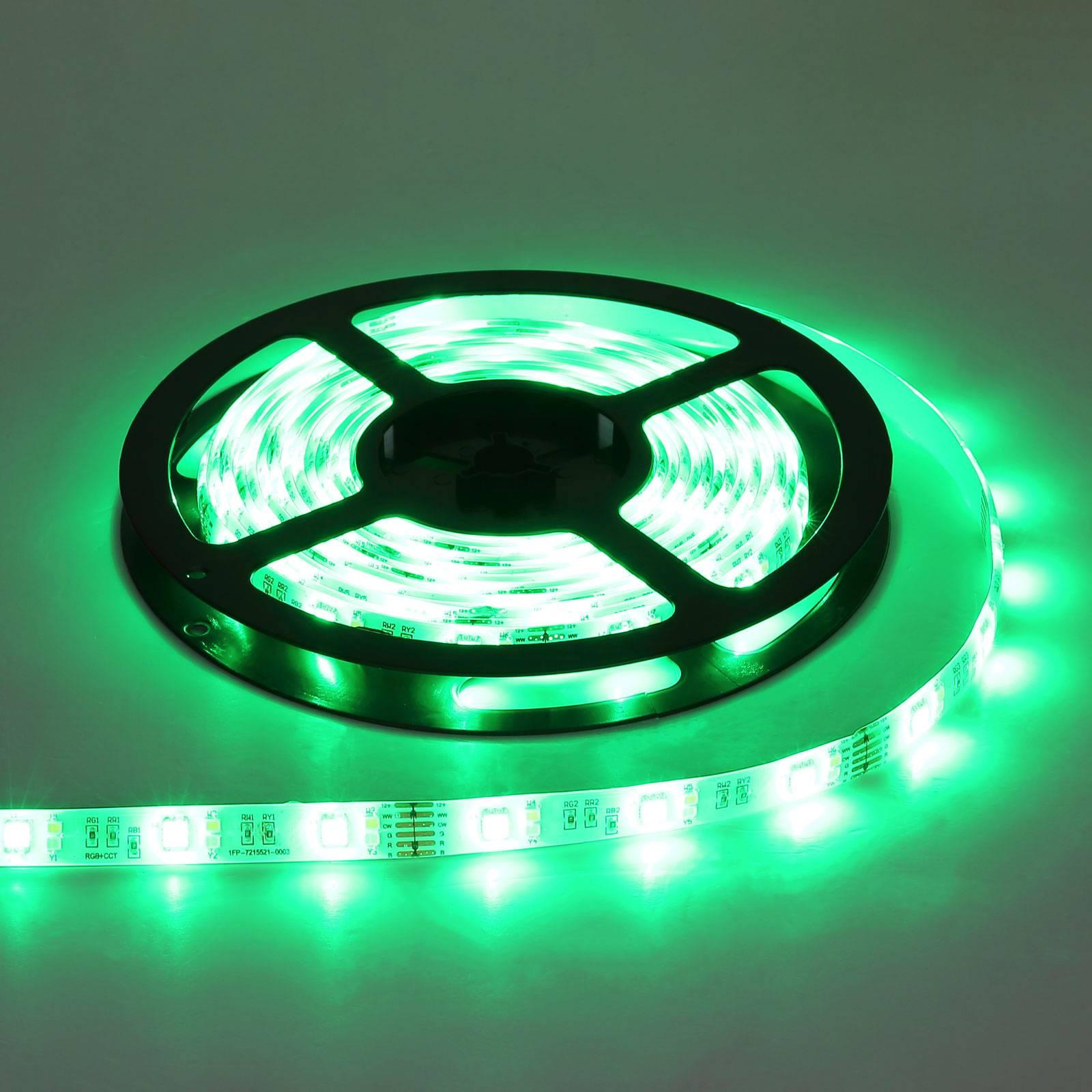 LED-nauha Eduard Tuya-Smart RGBW CCT kaukosäädin