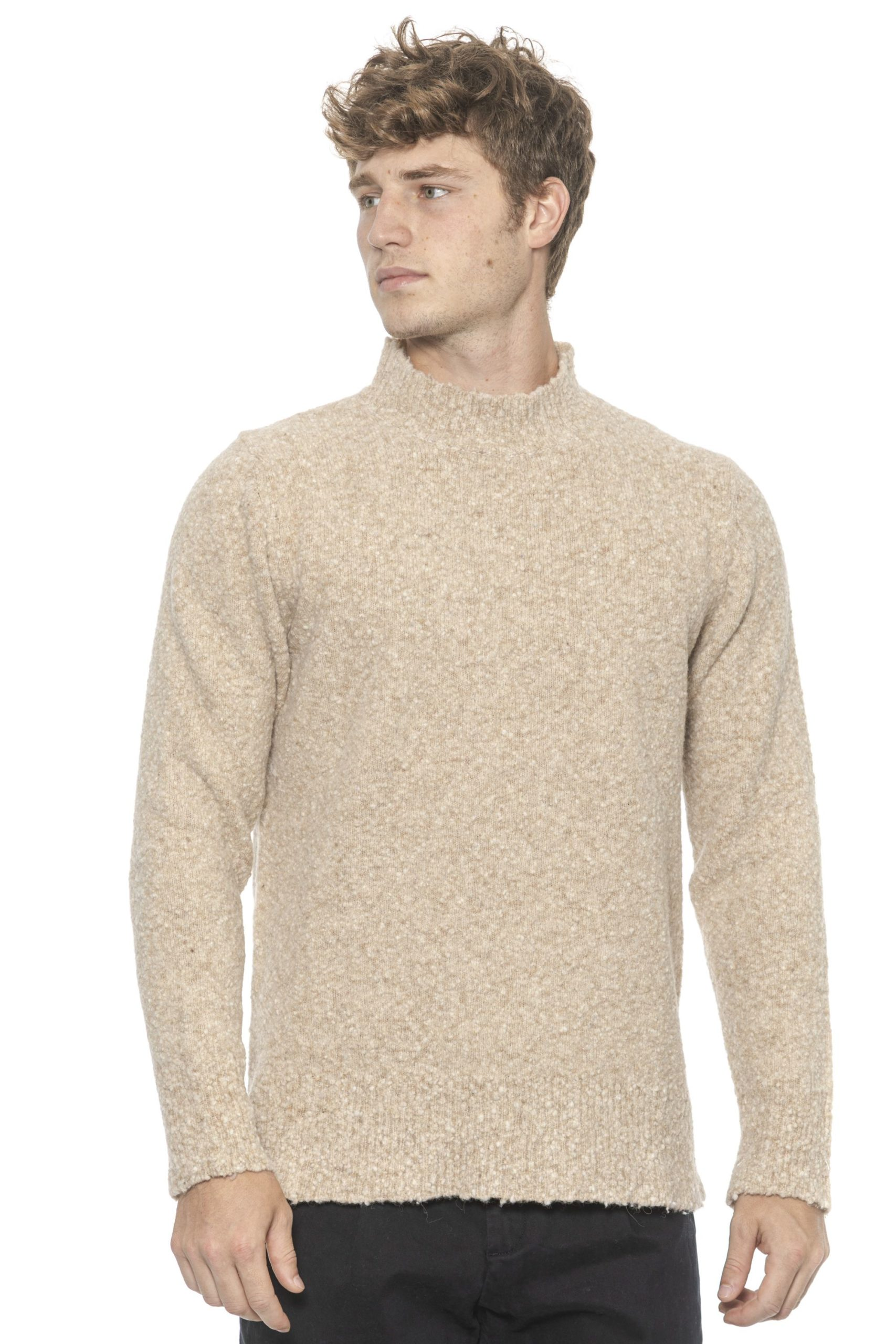 Alpha Studio Men's Sweater Beige AL1314478 - IT50 | L