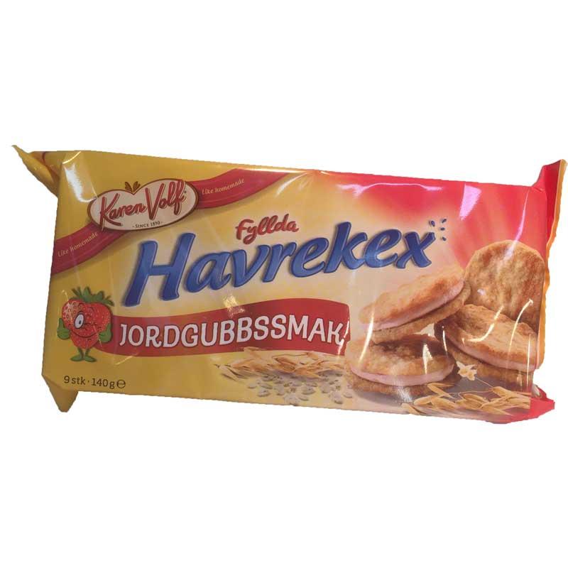 Havrekex Jordgubbsmak - 80% rabatt