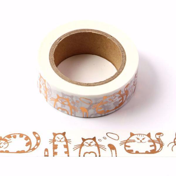 Copper Cat Washi Tape