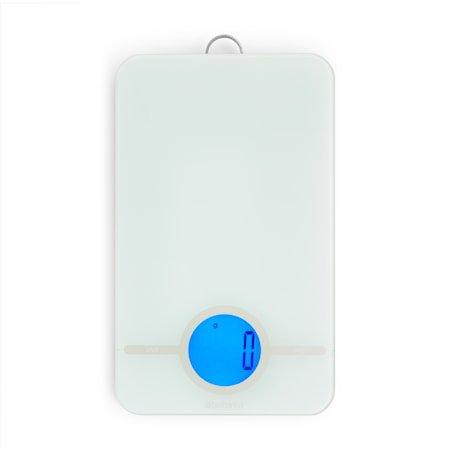 Tasty Digital Kjøkkenvekt med glassoverflate Lysegrå