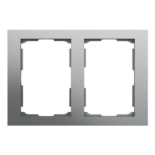 Elko Plus Yhdistelmäkehys 2-osainen, 2 lokero Alumiini