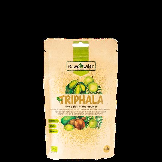Triphala, Ekologiskt Triphala pulver, 125 g