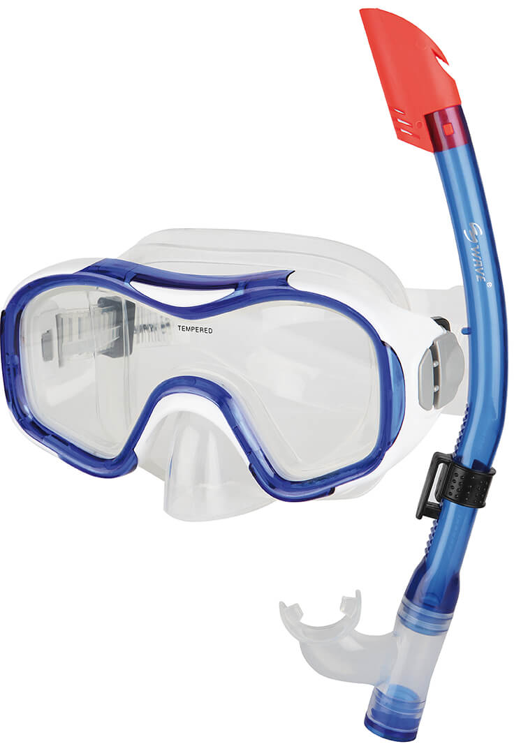 Sunflex - Diving mask and snorkel DOLPHIN 3-6 years (47041)