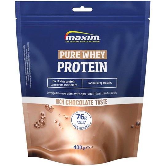 "Proteinpulver ""Pure Whey"" Choklad 400g - 41% rabatt"