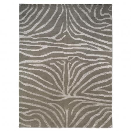 Zebra Matta Beige/Vit 250x350 cm