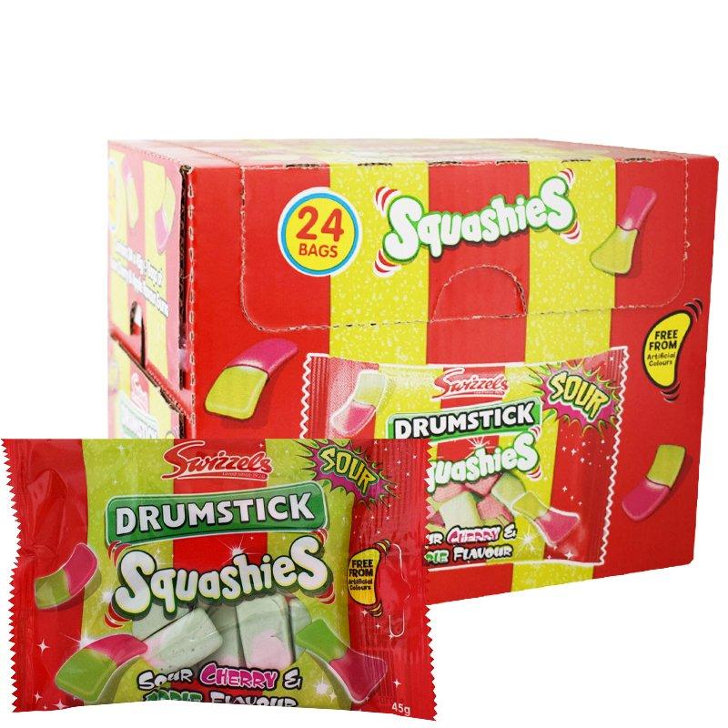 Squashies Körsbär & äpple 24-pack - 75% rabatt
