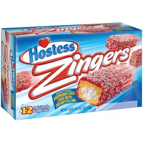 Hostess Zingers Raspberry Coconut Cakes