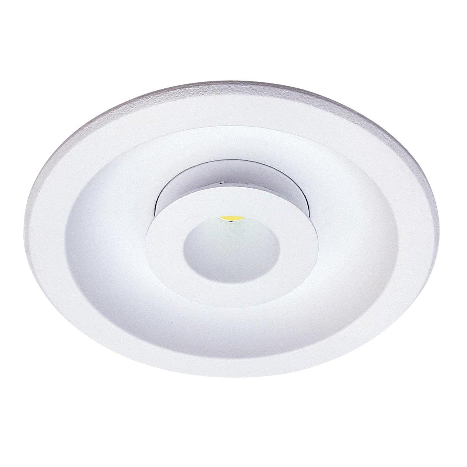 Rund LED-innfellingslampe Meto