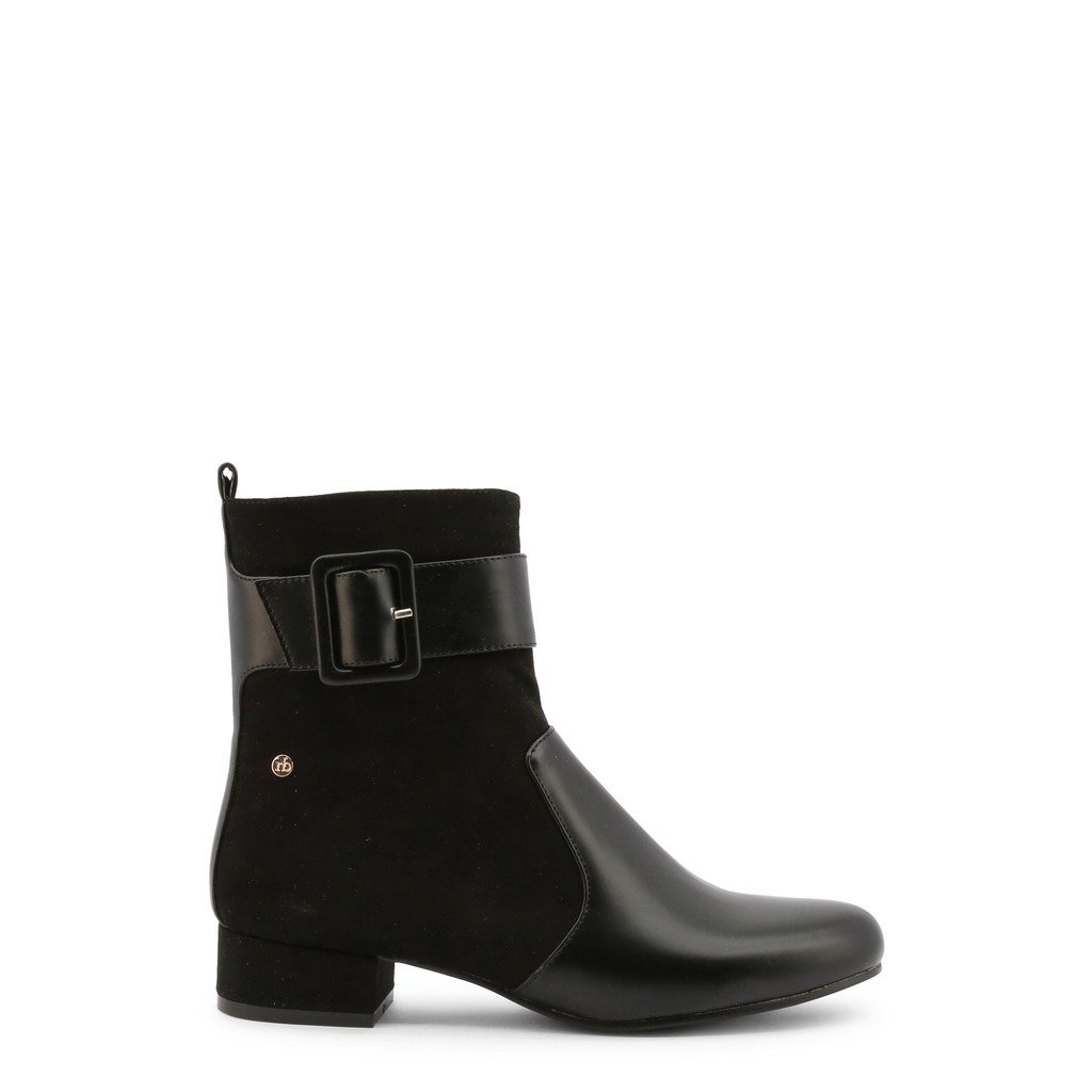 Roccobarocco Women's Ankle Boot Black RBSC1J202STD - black EU 37