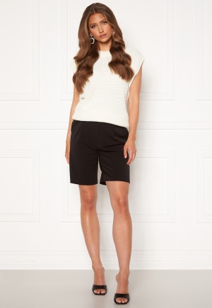ONLY Ivy Tailored Long Shorts Black XS