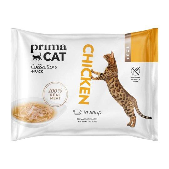 PrimaCat Chicken in Soup (4 x 40 gram)