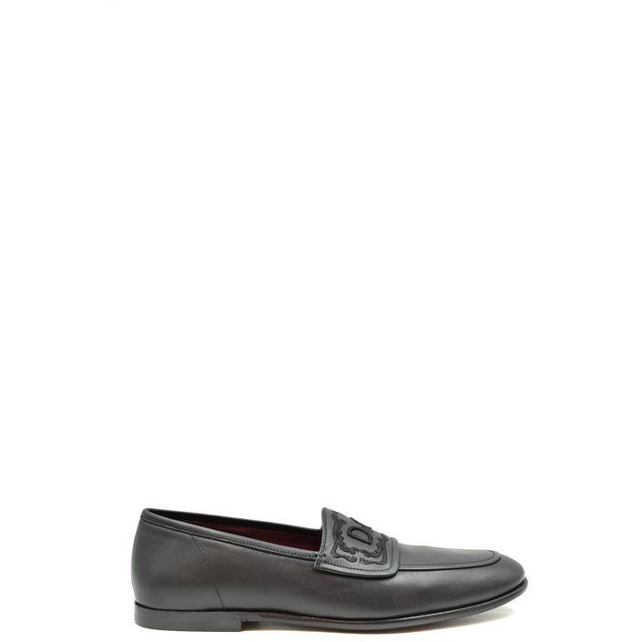Dolce & Gabbana Men's Loafer Black 179085 - black 42