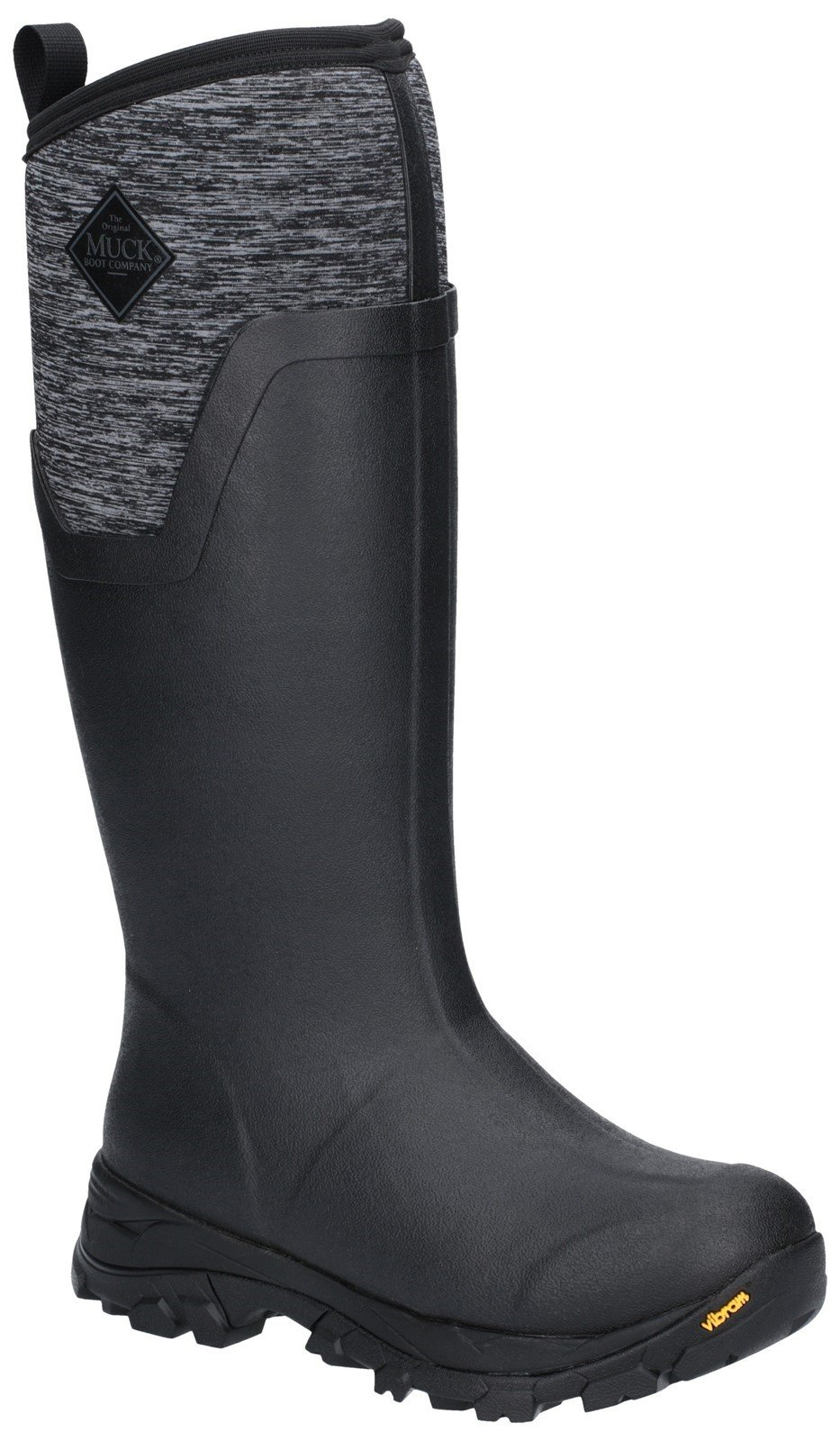 Muck Boots Unisex Arctic Ice Tall Extreme Conditions Boot Various Colours 26031 - Black/Heather 3