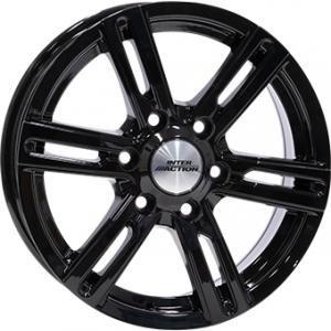 Inter Action Kargin 6 Gloss Black 8x18 6/130 ET53 B84.1
