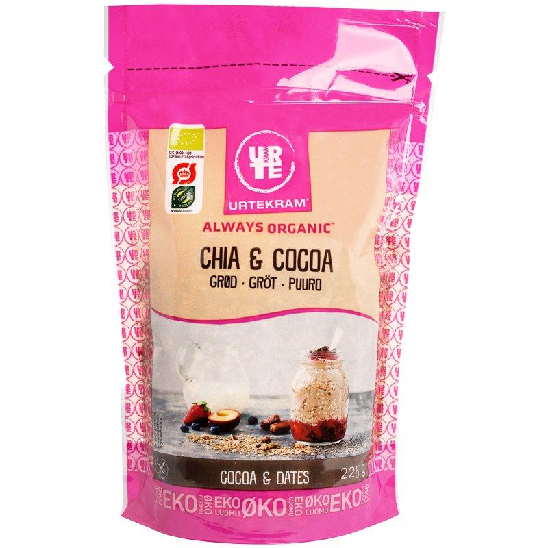 """Eko Gröt """"Chia & Cocoa"""" 225g - 37% rabatt"""