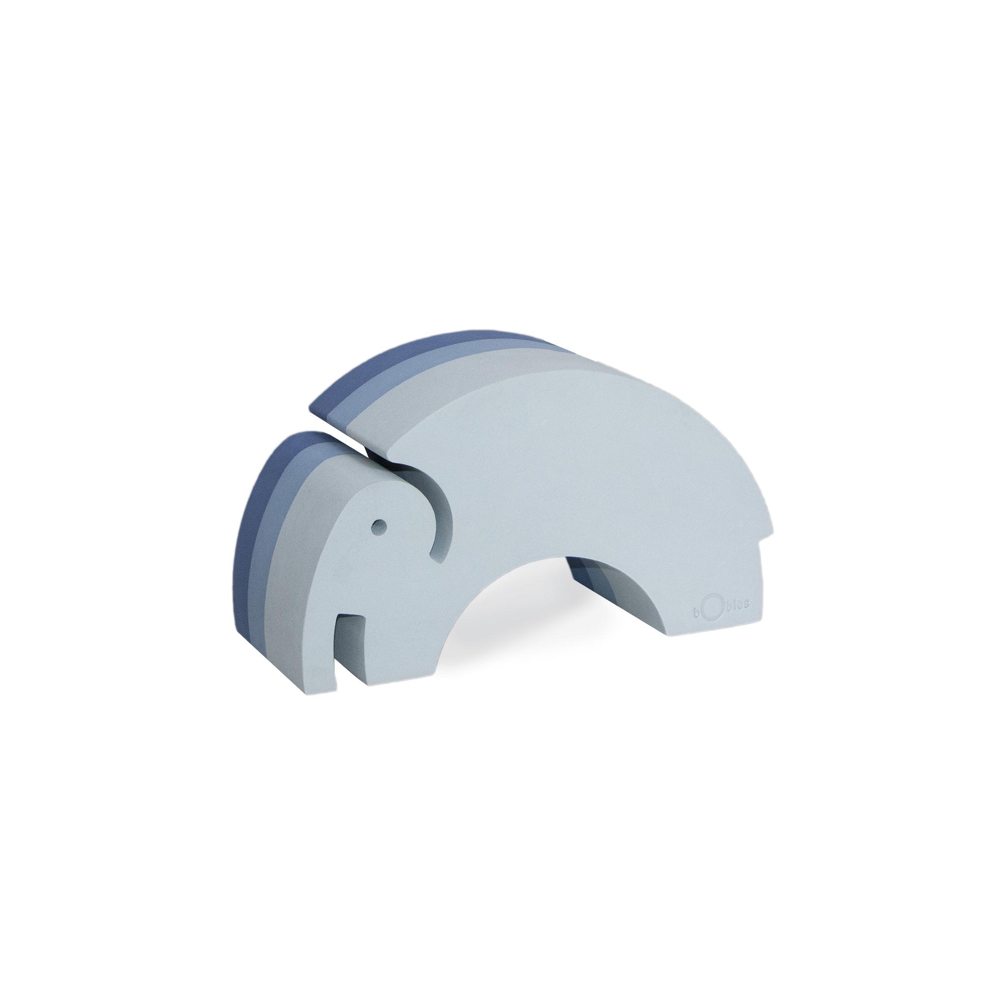 bObles - Medium Elephant, Blue