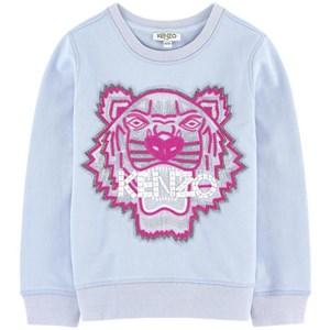 Kenzo Blue Beaded Embroidered Tiger Sweatshirt 8 years
