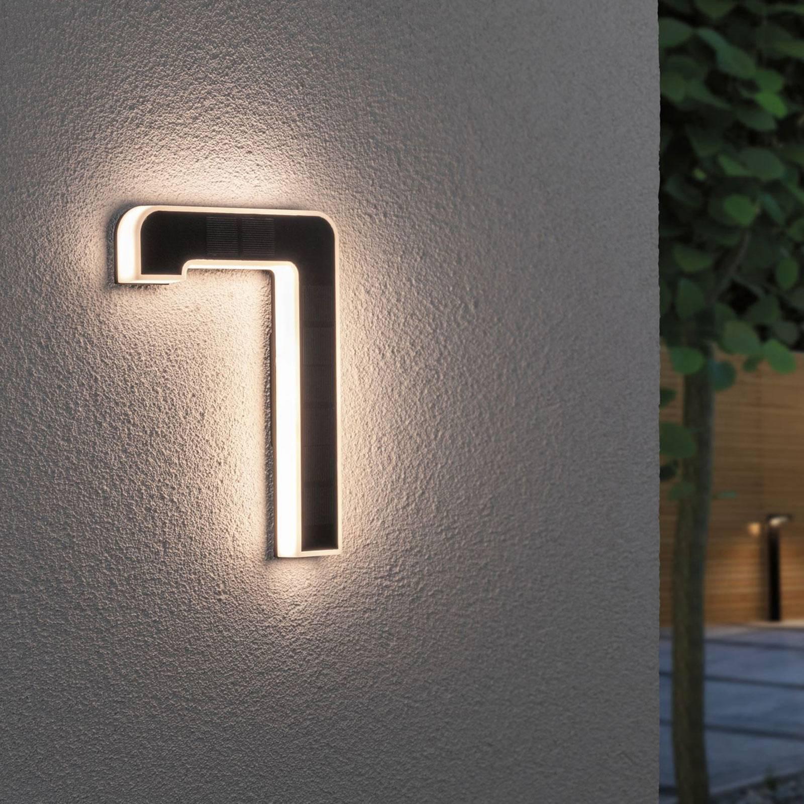 Paulmann LED-sol-husnummer 7