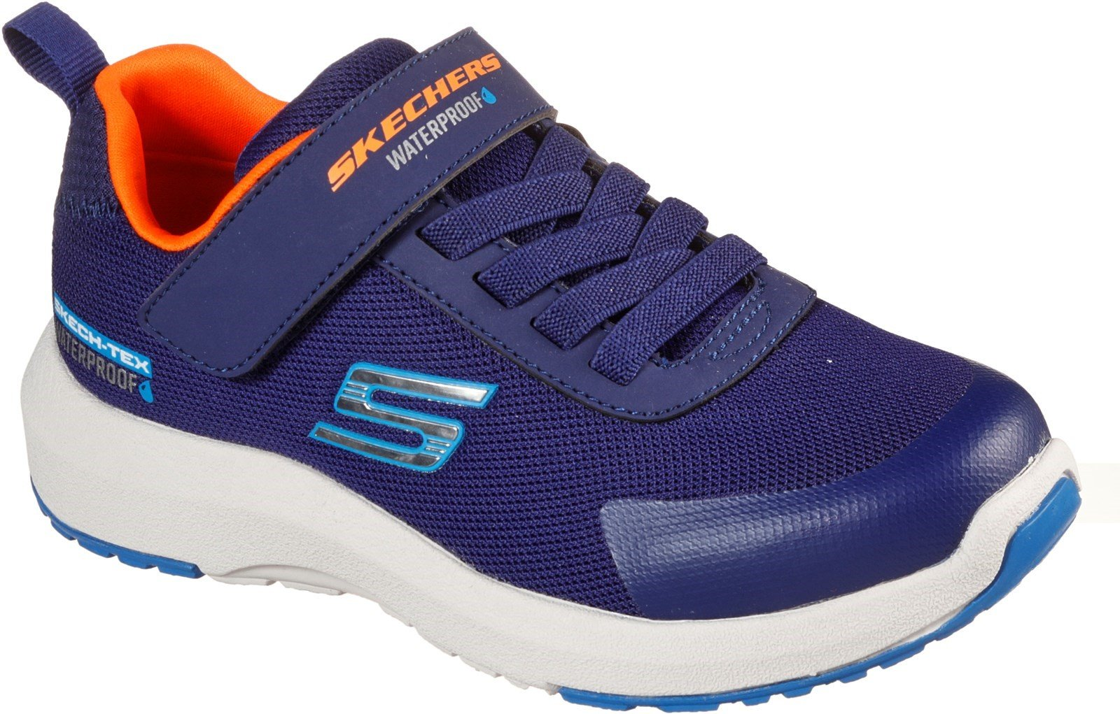 Skechers Kid's Dynamic Tread Sports Trainer Various Colours 31173 - Navy 9.5
