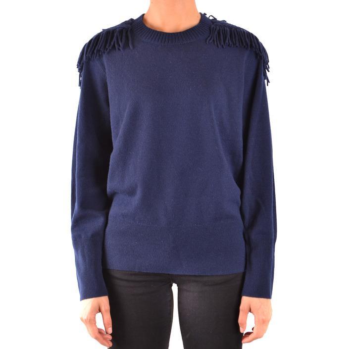 Burberry Women's Sweater Blue 167590 - blue M