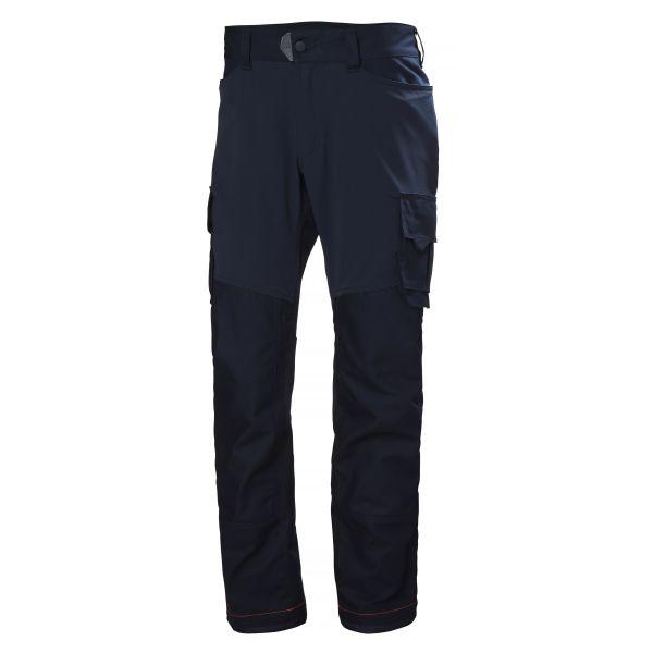 Helly Hansen Workwear Chelsea Evolution Työhousut Tummansininen, 4-suuntainen joustomateriaali C46