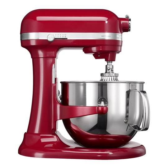 KitchenAid - Artisan Köksmaskin 6,9 L Röd