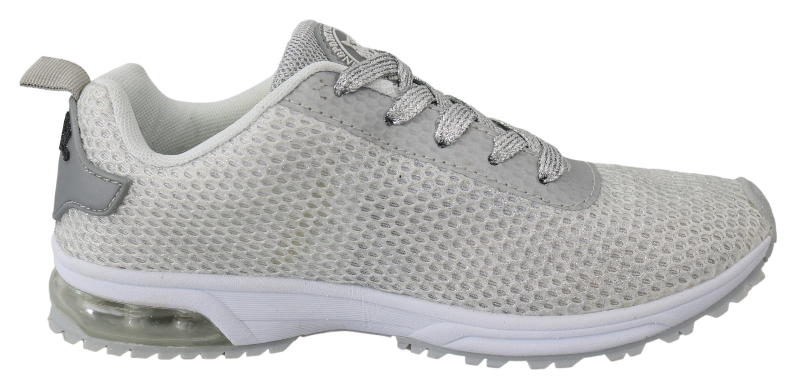 Silver Polyester Gretel Sneakers Shoes - EU36/US6