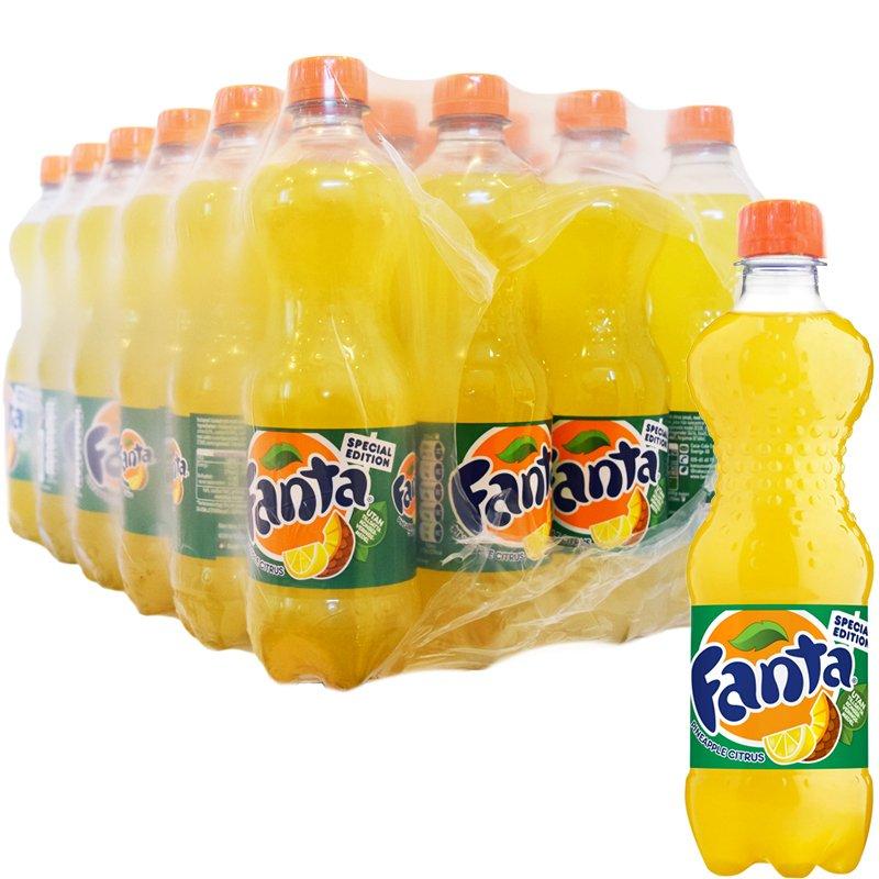 Hel Låda Fanta Ananas & Citrus 24 x 50cl - 66% rabatt