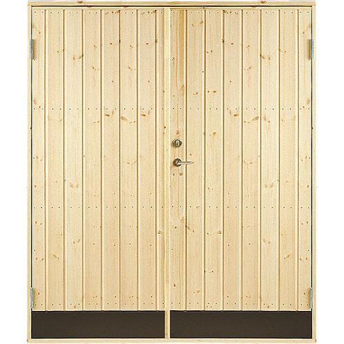 Dobbeldør 10° panel Jabo Boddør 15,3x19