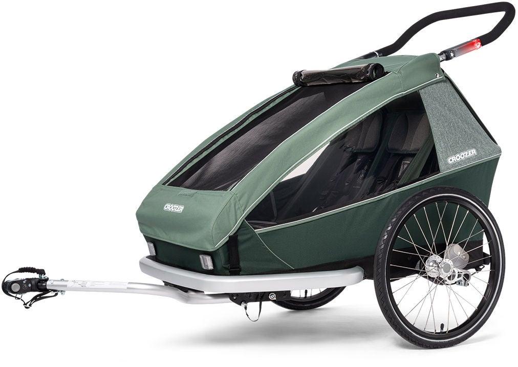 Croozer Kid Vaaya 2 Cykelvagn, Djungelgrön