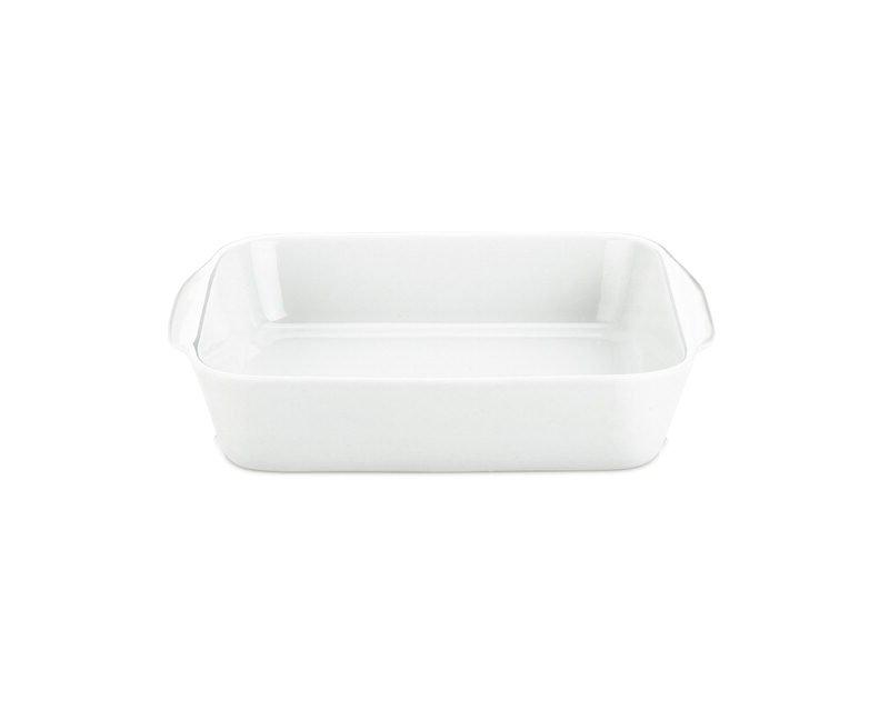 Pillivuyt - Square Dish No 2 17 cm - White (220420)