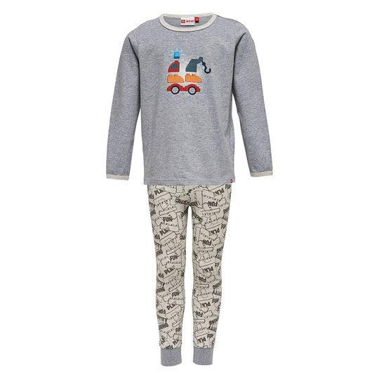 LEGO Wear Pyjamas Nis 704, Grey Melange str 80