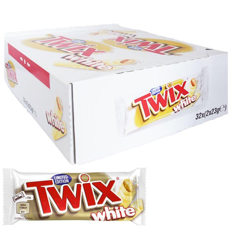 "Hel Låda Chokladbar ""White"" 32 x 46g - 58% rabatt"