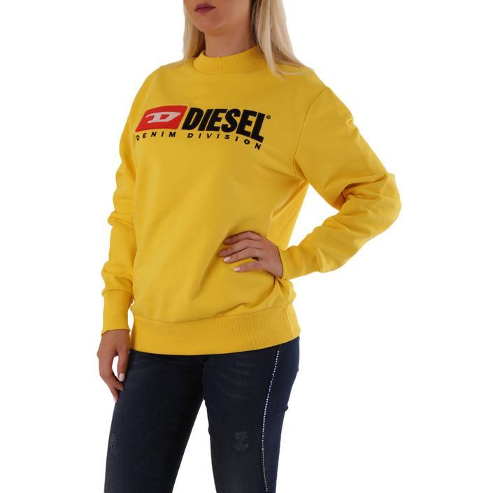 Diesel Women's Sweatshirt Yellow 312554 - yellow S