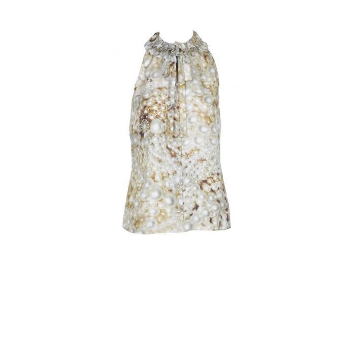 Boutique Moschino Women's Shirt Beige 171752 - beige 46