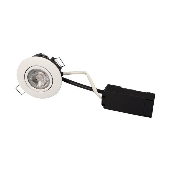 Scan Products Luna LP Downlight-valaisin 6,2 W, valkoinen 2700 K