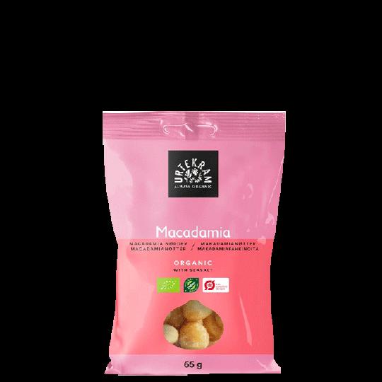Macadamianötter Havssalt, 65 g