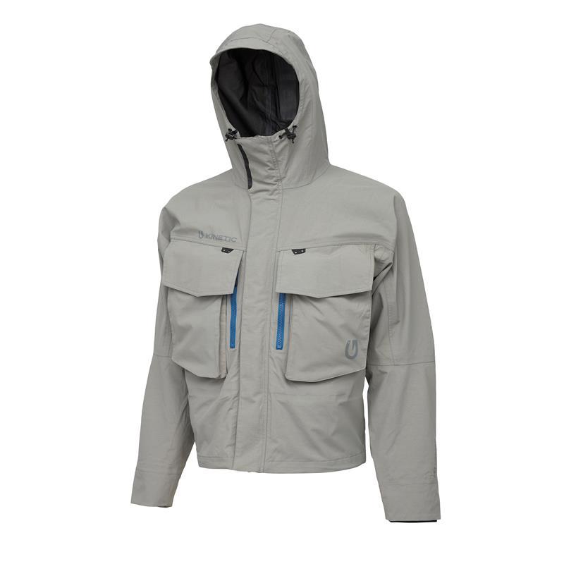 Kinetic Thunderstorm Jacket L Vadejakke, Grey Hawk