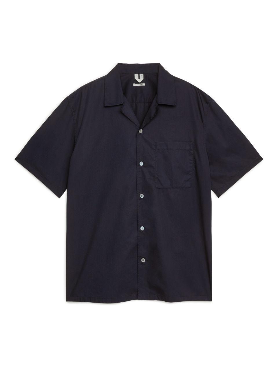 Poplin Resort Shirt - Blue