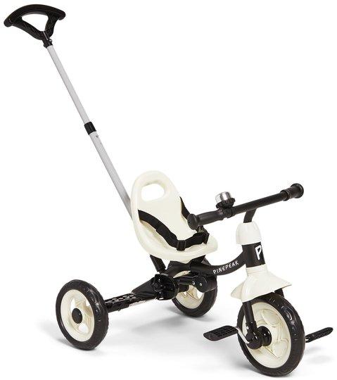 Pinepeak Tricycle, Svart/Hvit