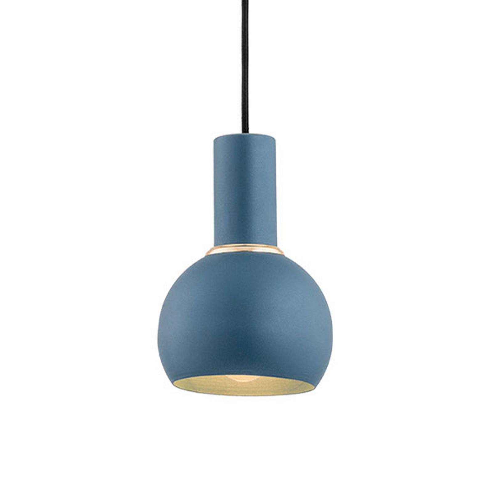 Riippuvalo Selma, 1-lamppuinen sininen Ø 14 cm