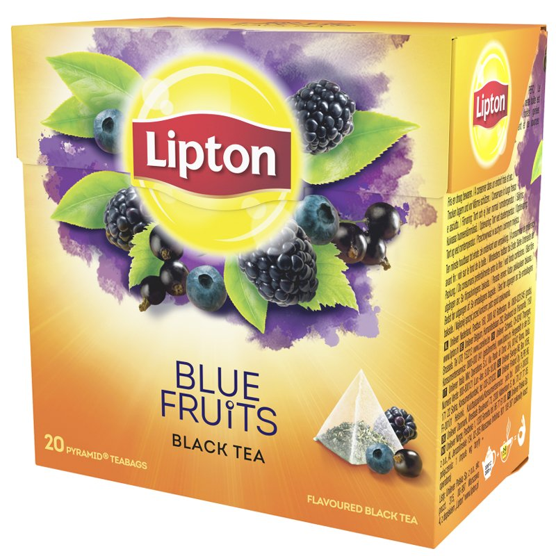 "Musta Tee ""Blue Fruits"" 36g - 60% alennus"
