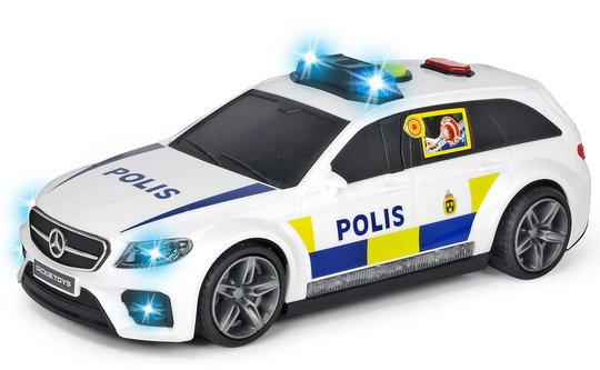 Dickie Toys Politibil Mercedes