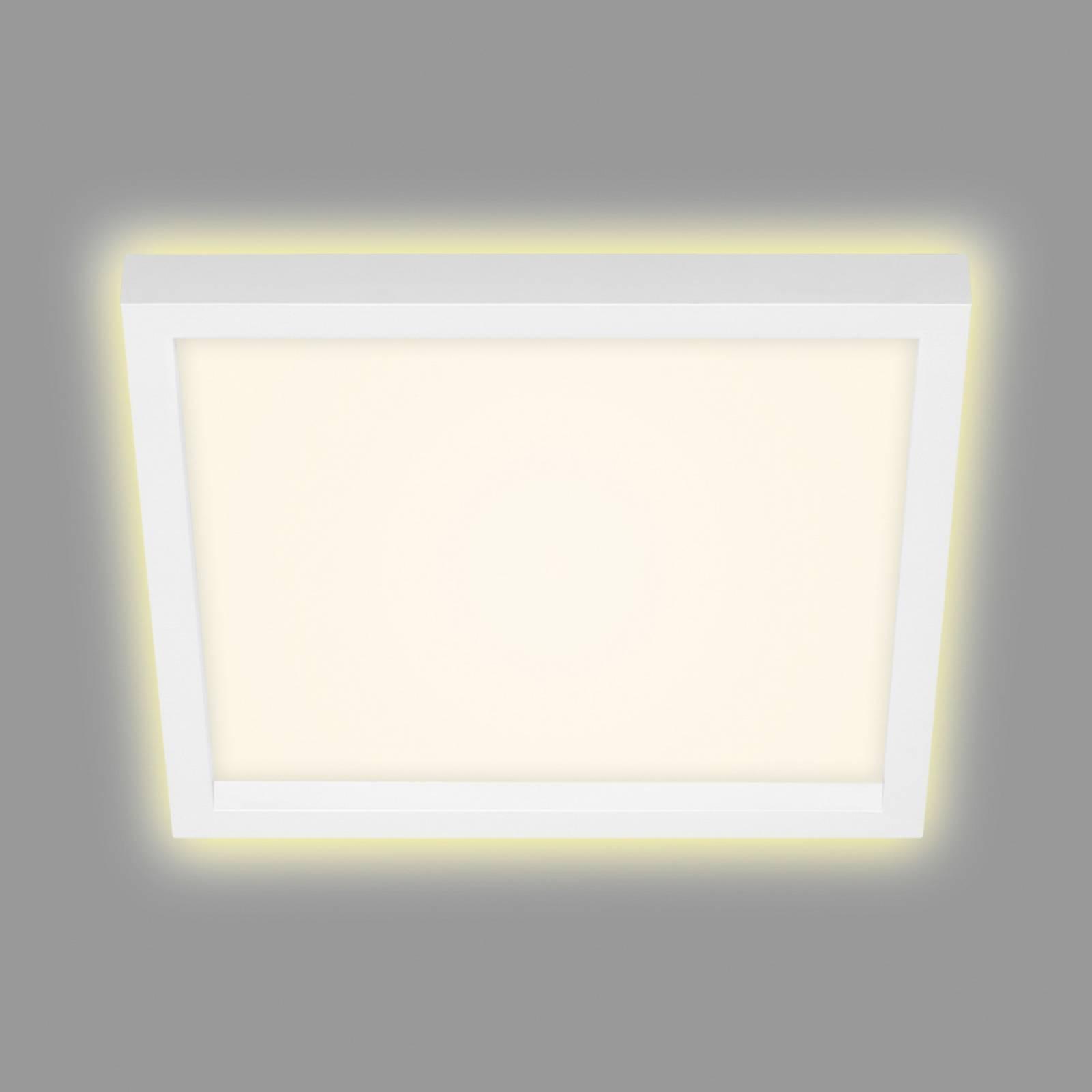 LED-kattovalaisin 7362, 29 x 29 cm, valkoinen