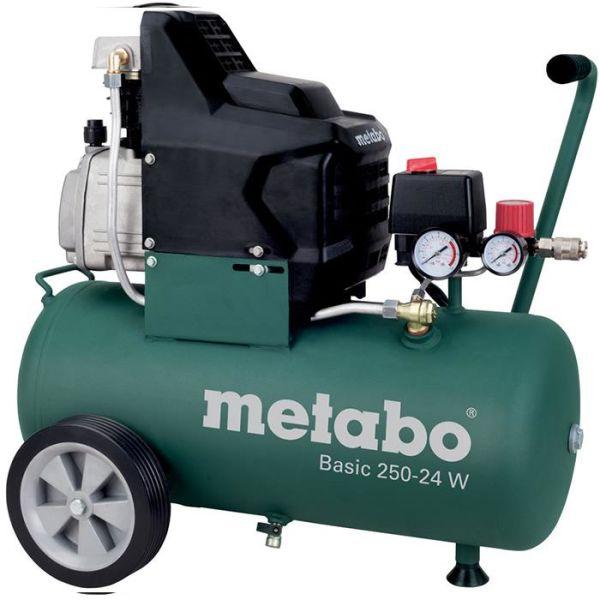 Metabo Basic 250-24 W Kompressor med påfyllingskapasitet 110 l/min