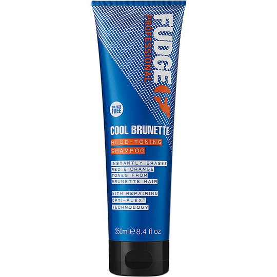 Fudge Cool Brunette Blue Toning Shampoo, 250 ml Fudge Hopeashampoot